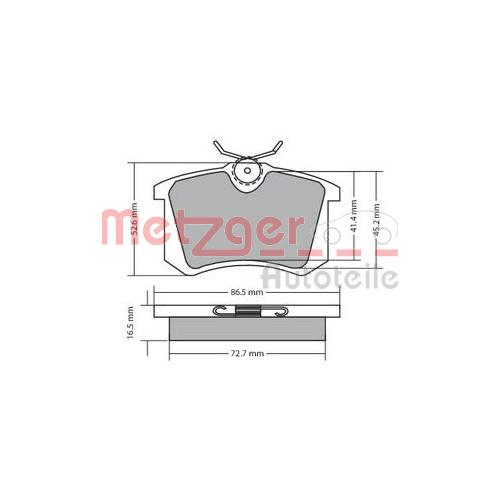 skoda octavia bremsbel ge jetzt g nstig online kaufen im. Black Bedroom Furniture Sets. Home Design Ideas